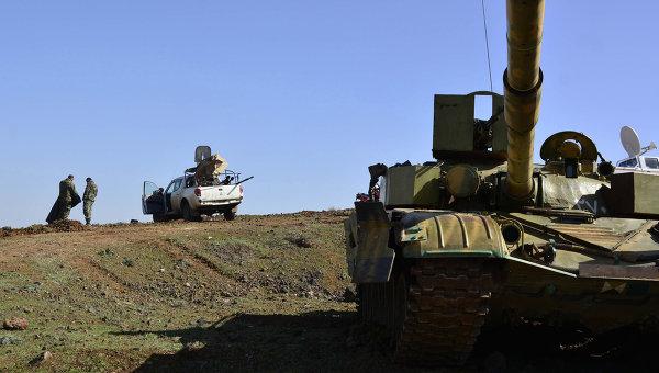 Правительственные войска Сирии. 03 марта 2015