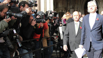 Британский суд подтвердил решение об экстрадиции Ассанжа в Швецию. Архивное фото