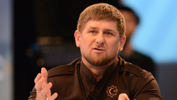 Глава Чеченской Республики Рамзан Кадыров на пресс-конференции. Архивное фото