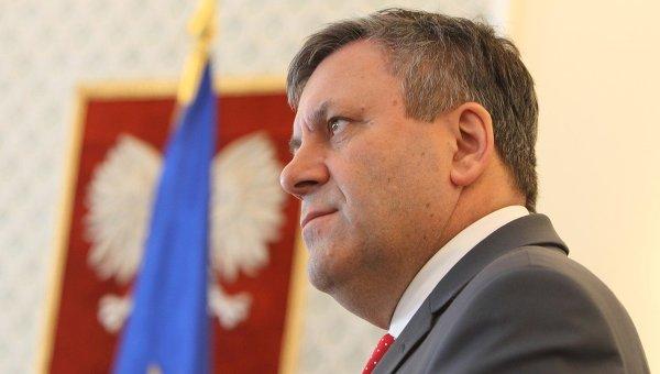 Вице-премьер и министр экономики Польши Януш Пехочиньский. Архивное фото
