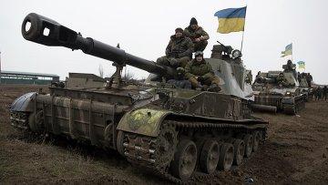 Бронетехника ВСУ в Донбассе