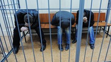 Подозреваемые в убийстве Бориса Немцова. Архивное фото