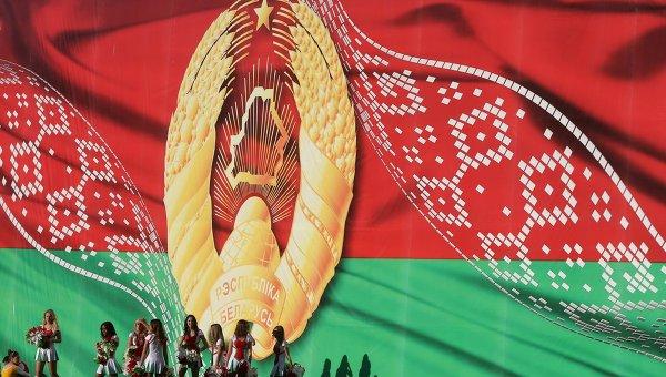 Участницы театрализованного шествия Беларусь - от освобождения к независимости  в честь Дня Независимости Белоруссии. Архивное фото