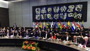 Заседание УНАСУР в Эквадоре, посвященное санкциям США в отношении Венесуэлы