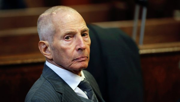 Миллиардер Роберт Дарст, признавшийся в убийстве жены