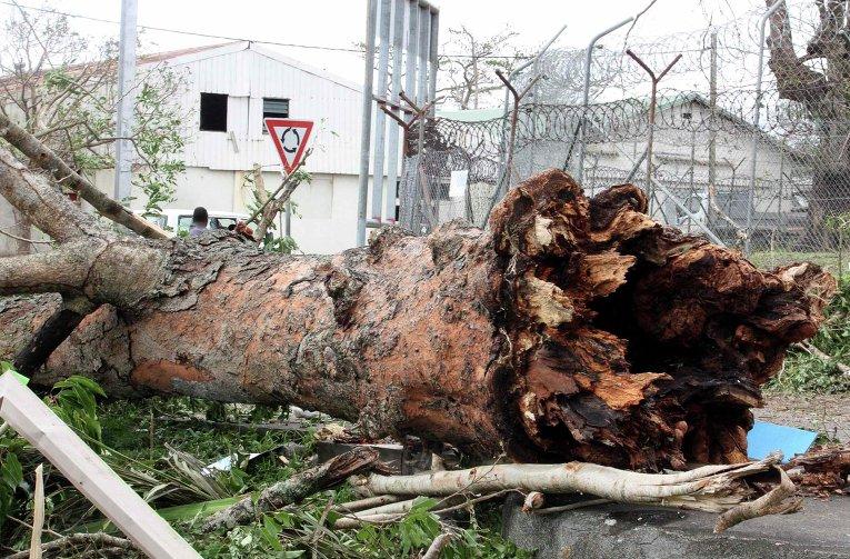 Последствия циклона Пэм в Вануату