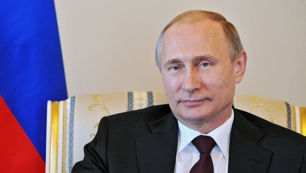 Президент РФ В.Путин. Архивное фото.