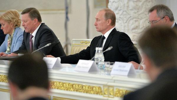 Президент России В.Путин провел 36-е заседание Российского оргкомитета Победа