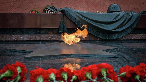 Могила Неизвестного солдата в Александровском саду. Архивное фото