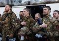 """Отправка батальона """"Сич"""" на юго-восток Украины"""