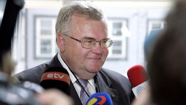 Мэр города Таллина Эдгар Сависаар. Архивное фото