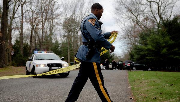 Сотрудник полиции США, архивное фото