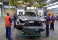 """Производство автомобилей на предприятии """"Автотор"""""""