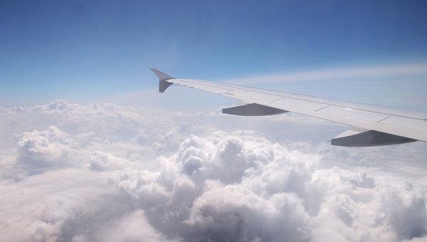 Вид из самолета Airbus A320 компании Germanwings