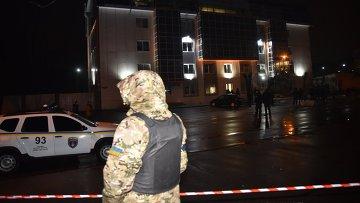 Сотрудники органов безопасности Украины на месте происшествия в Одессе. Архивное фото