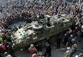 """Американские бронемашины Stryker совершают """"Драгунскую прогулку"""" по Восточной Европе"""