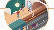 Что делать, если вы или ваши вещи оказались на рельсах в метро