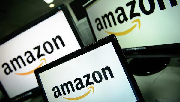 Amazon - американская компания, крупнейшая в мире по обороту среди продающих товары и услуги через Интернет. Архивное фото