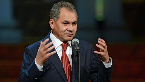 Министр обороны России Сергей Шойгу. Архивное фото
