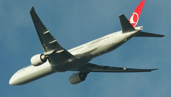 Boeing 777-300ER авиакомпании Turkish Airlines. Архивное фото