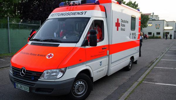 Скорая помощь в Германии. Архивное фото