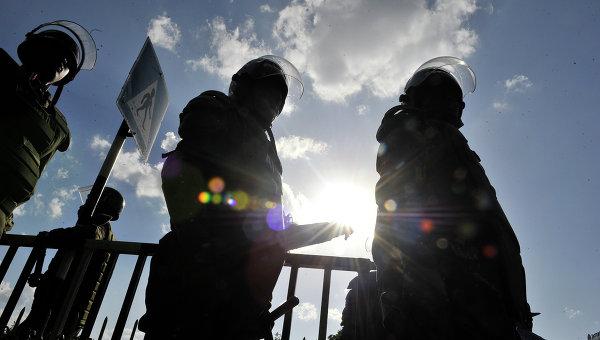 Полицейские в Кении. Архивное фото