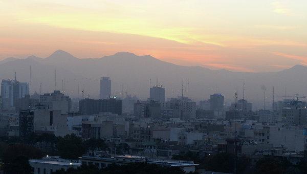 Города мира. Тегеран. Архивное фото