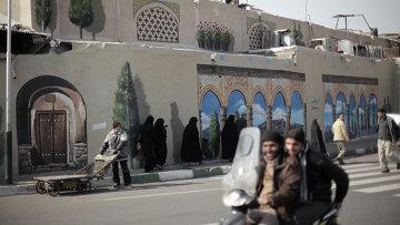 Рынок в Тегеране. Иран. Архивное фото