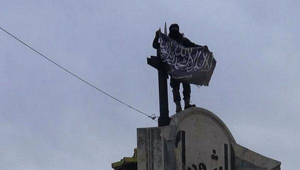 Боевик террористической группировки. Архивное фото
