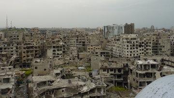 Город Хомс. Сирия. Архивное фото.
