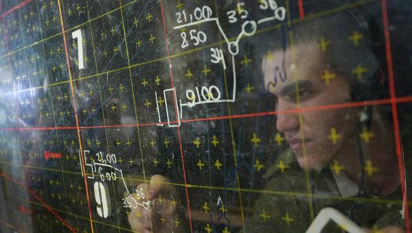 На русской военной базе вАбхазии началось учение