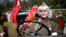 71-я годовщина освобождения Симферополя от немецко-фашистских захватчиков