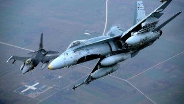Военные самолеты НАТО. Архивное фото