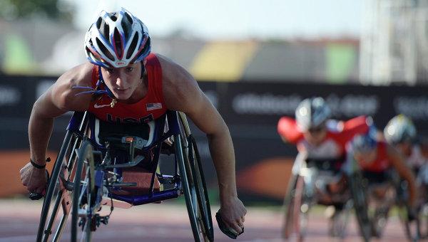 Татьяна Макфадден американская спортсменка-инвалид российского происхождения. Архивное фото
