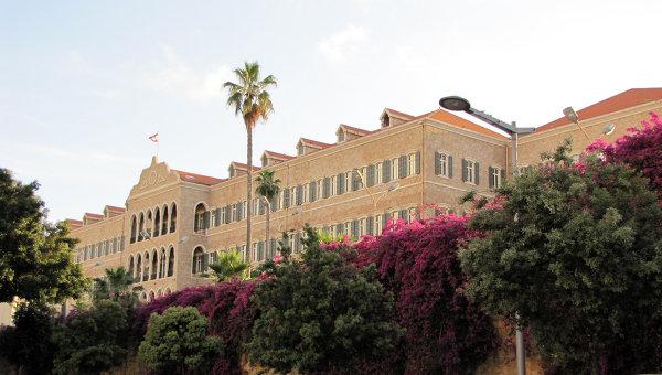 Здание ливанского правительства. Архивное фото