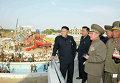 Высший руководитель КНДР Ким Чен Ын