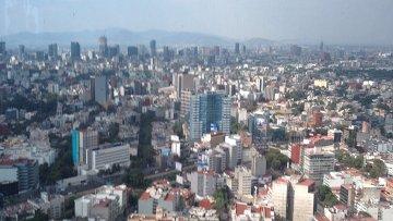 Вид Мехико. Архивное фото