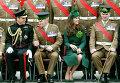 Принц Уильям и герцогиня Кэтрин на параде в честь Дня Святого Патрика