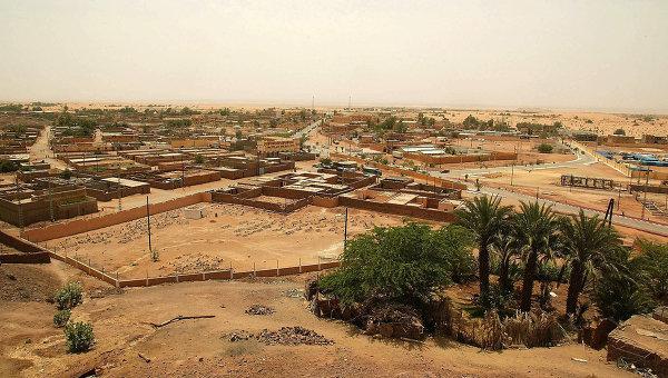 Город Иллизи на юге Алжира. Архивное фото
