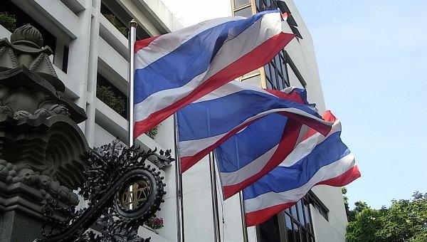 Флаги Таиланда. Архивное фото