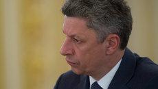 Лидер парламентской фракции Рады Оппозиционный блок Юрий Бойко. Архивное фото