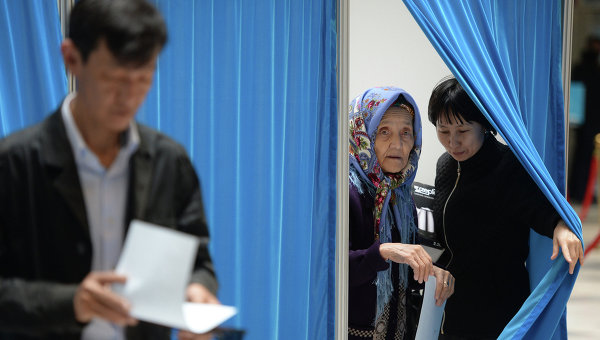 Выборы в Республике Казахстан. Архивное фото