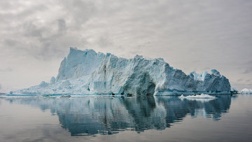 Льды Арктики. Архивное фото