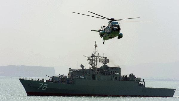Фрегат ВМС Ирана, архивное фото