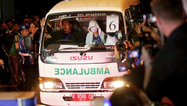 Карета скорой помощи в Индонезии. Архивное фото