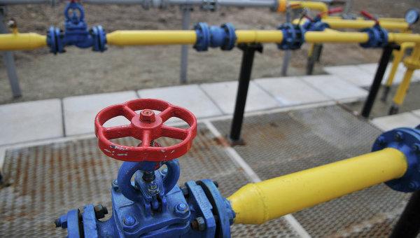 Объект газовой системы. Архивное фото