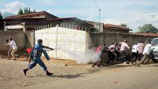 Полиция Бурунди. Архивное фото
