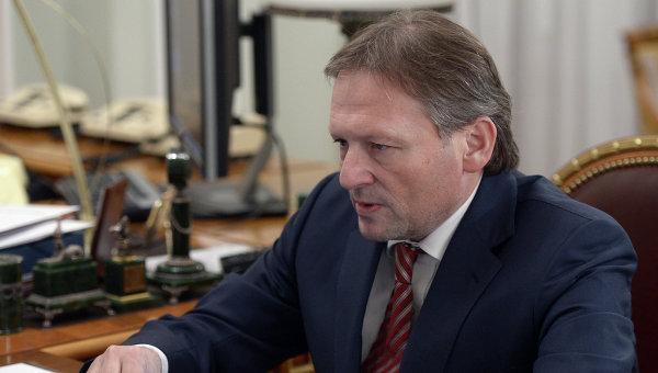 Уполномоченный при президенте РФ по защите прав предпринимателей Борис Титов . Архивное фото