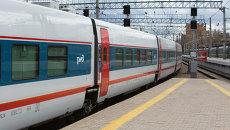 Скоростной поезд Стриж. Архивное фото
