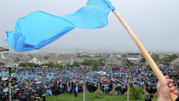 Мероприятия, посвященные годовщине депортации крымских татар. Архивное фото